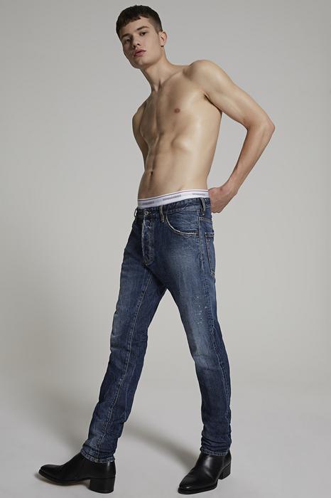 DSQUARED2 Men 5 pockets Blue Size 34 99% Cotton 1% Elastane