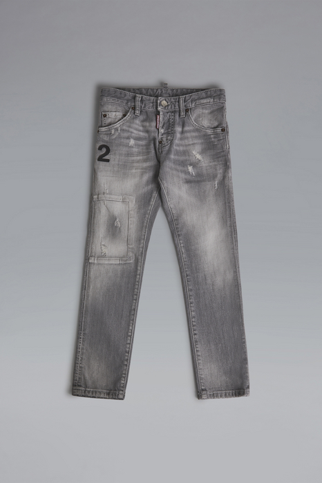 DSQUARED2 Men 5 pockets Grey Size 12 98% Cotton 2% Elastane