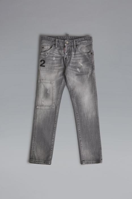 DSQUARED2 Men 5 pockets Grey Size 8 98% Cotton 2% Elastane