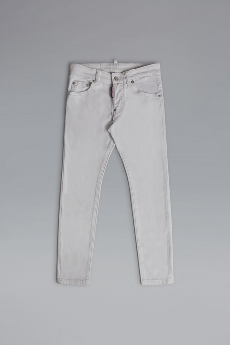 DSQUARED2 Men 5 pockets White Size 6 98% Cotton 2% Elastane