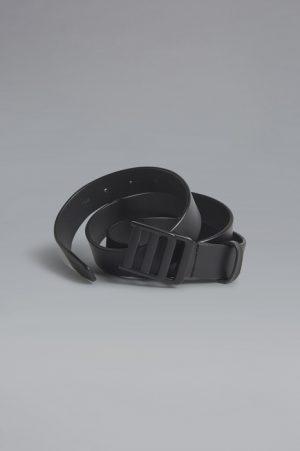 DSQUARED2 Men Belt Black Size 38 100% Bovine leather Zama