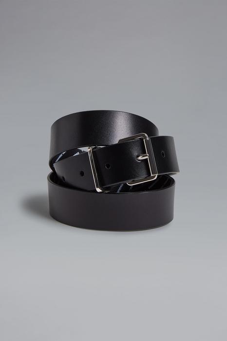 DSQUARED2 Men Belt Black Size 42 100% Bovine leather