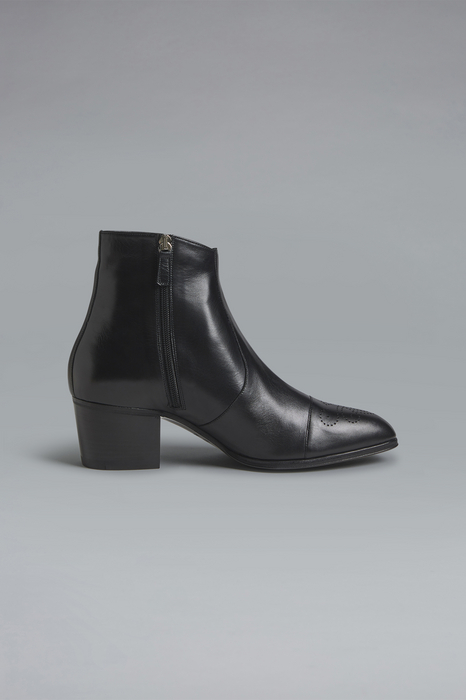 DSQUARED2 Men Boot Black Size 13 100% Goatskin