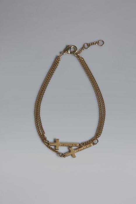 DSQUARED2 Men Bracelet Gold Size M 100% Brass