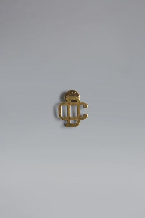 DSQUARED2 Men Brooch Gold Size OneSize 50% Brass 50% Zama