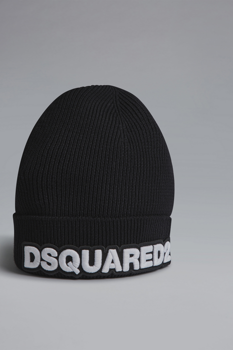 DSQUARED2 Men Hat Black Size OneSize 100% Angora wool