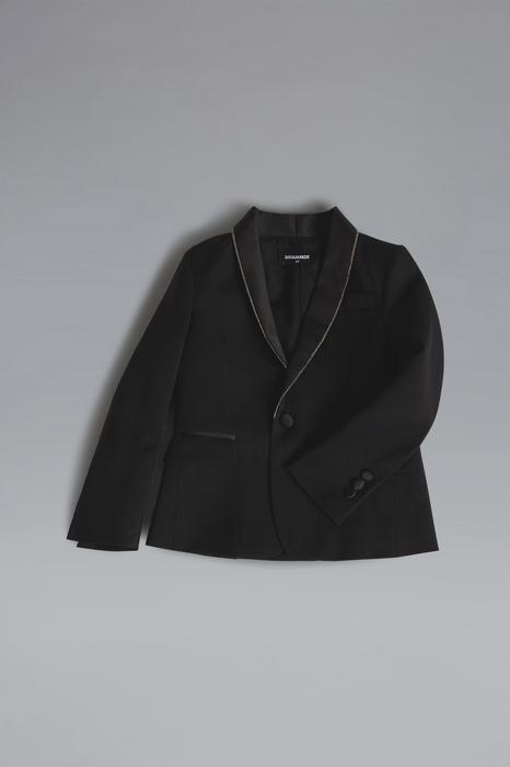 DSQUARED2 Men JACKET/BLAZER Black Size 8 98% Wool 2% Elastane