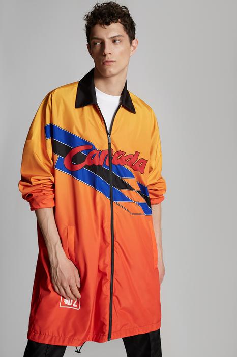 DSQUARED2 Men Kaban Orange Size 3XL 100% Polyester