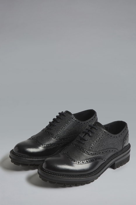 DSQUARED2 Men Lace-Up Black Size 9 100% Calfskin