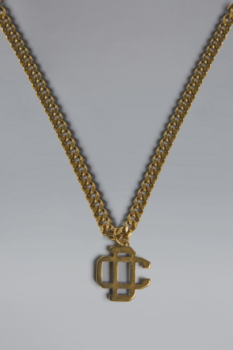 DSQUARED2 Men Necklace Gold Size OneSize 80% Brass 20% Zama