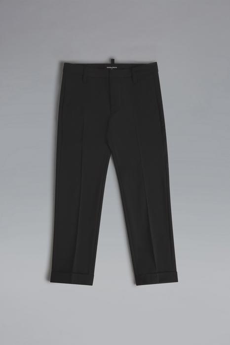 DSQUARED2 Men Pants Black Size 10 95% Virgin Wool 5% Elastane