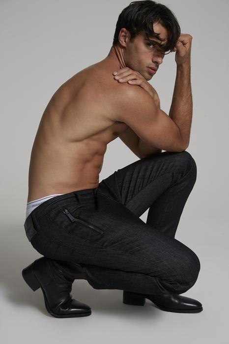 DSQUARED2 Men Pants Black Size 32 98% Cotton 2% Elastane