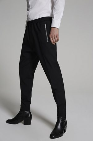 DSQUARED2 Men Pants Black Size 32 99% Virgin Wool 1% Elastane
