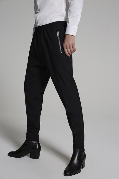 DSQUARED2 Men Pants Black Size 34 99% Virgin Wool 1% Elastane