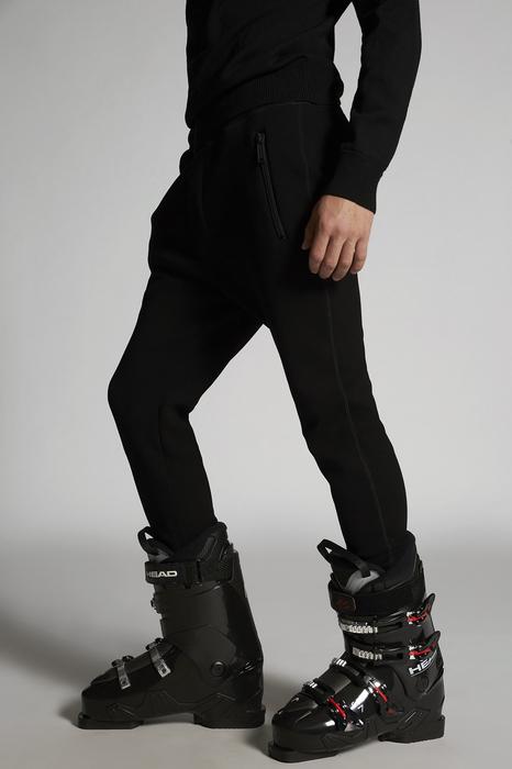 DSQUARED2 Men Pants Black Size 3XL 95% Viscose 5% Elastane