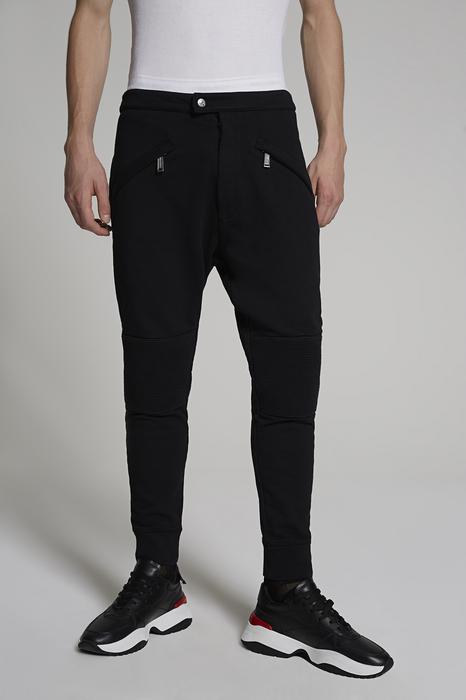 DSQUARED2 Men Pants Black Size XS 100% Cotton