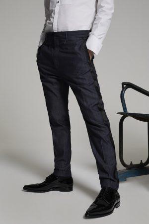 DSQUARED2 Men Pants Blue Size 32 100% Cotton