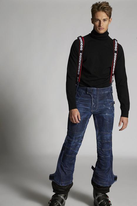 DSQUARED2 Men Pants Blue Size 32 98% Cotton 2% Elastane