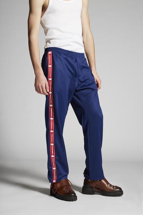 DSQUARED2 Men Pants Blue Size XL 50% Cotton 50% Polyester