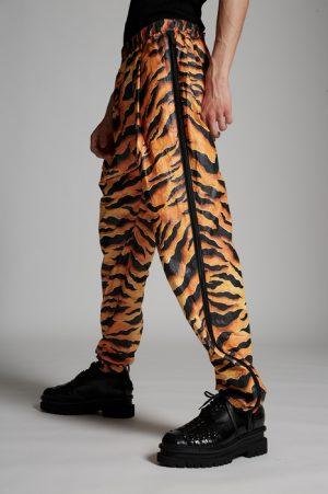 DSQUARED2 Men Pants Orange Size 28 100% Polyethylene