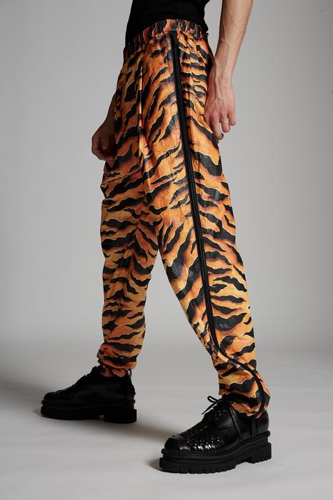 DSQUARED2 Men Pants Orange Size 36 100% Polyethylene