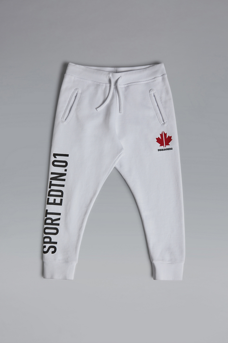 DSQUARED2 Men Pants White Size 14 100% Cotton