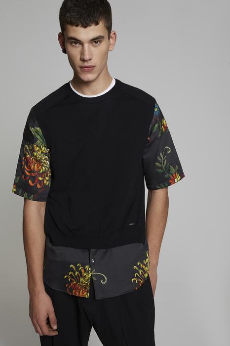 DSQUARED2 Men Pullover Black Size XS 100% Virgin Wool