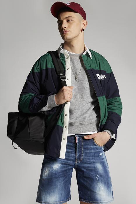 DSQUARED2 Men Shirt Multicoloured Size 34 100% Polyester