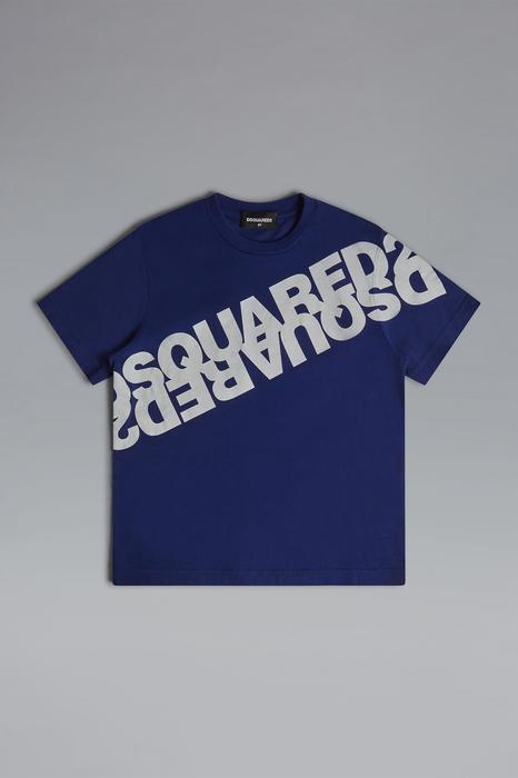 DSQUARED2 Men Short sleeve t-shirt Blue Size 8 100% Cotton