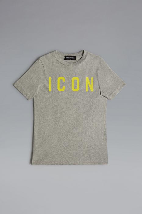 DSQUARED2 Men Short sleeve t-shirt Light grey Size 12 100% Cotton