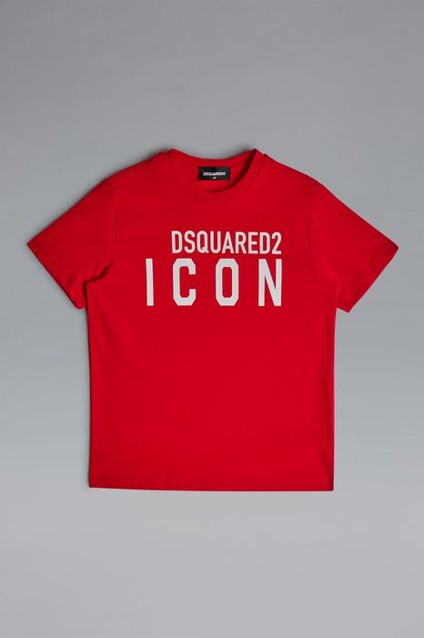 DSQUARED2 Men Short sleeve t-shirt Red Size 6 100% Cotton