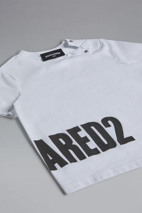DSQUARED2 Men Short sleeve t-shirt White Size 15-18 100% Cotton