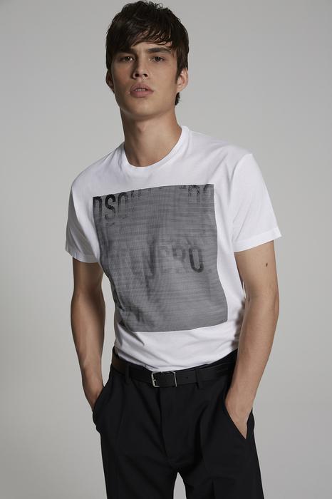 DSQUARED2 Men Short sleeve t-shirt White Size XS 100% Cotton