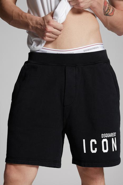 DSQUARED2 Men Shorts Black Size XS 100% Cotton