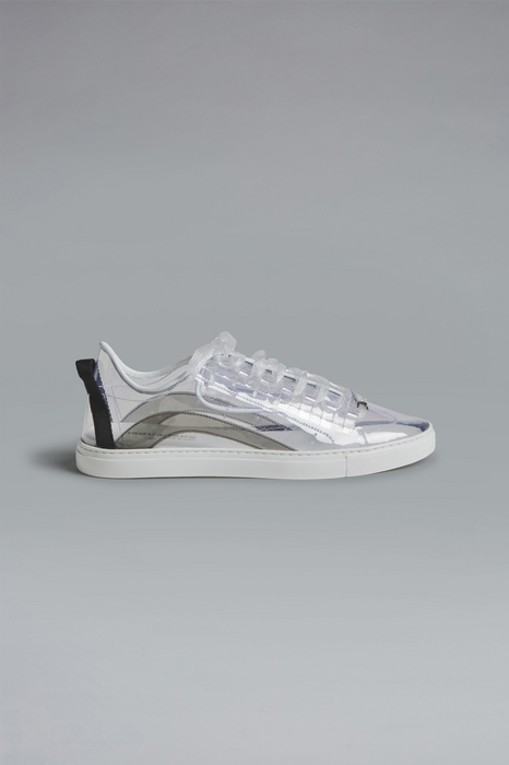 DSQUARED2 Men Sneaker Transparent Size 11 90% Thermoplastic polyurethane 10% PVC