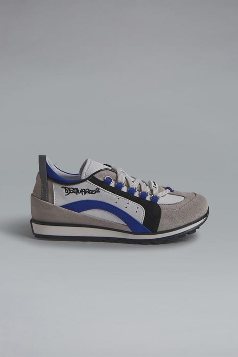 DSQUARED2 Men Sneaker White Size 2Y 92% Calfskin 3% Polyurethane 2% Polyamide 2% Polyester 1% Cotton