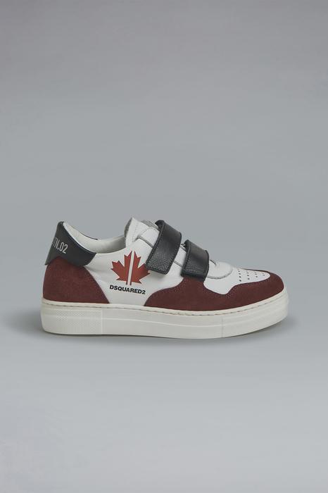 DSQUARED2 Men Sneaker White Size 3Y 100% Calfskin
