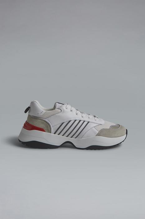 DSQUARED2 Men Sneaker White Size 6 100% Bovine leather
