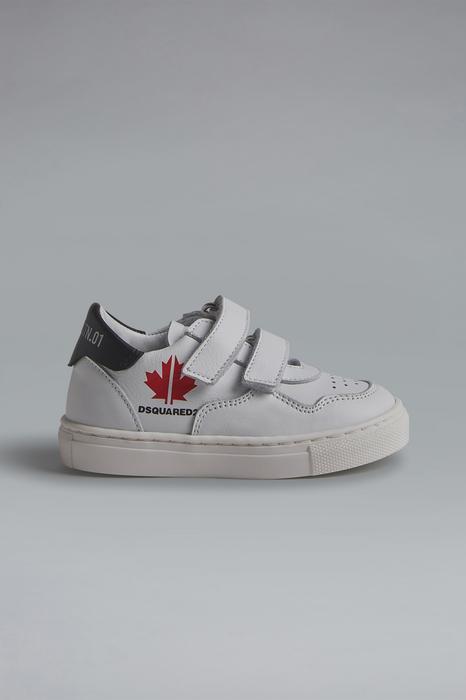 DSQUARED2 Men Sneaker White Size 6C 100% Calfskin