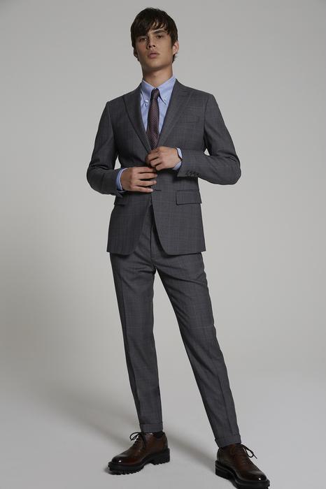 DSQUARED2 Men Suit Grey Size 44 100% Virgin Wool