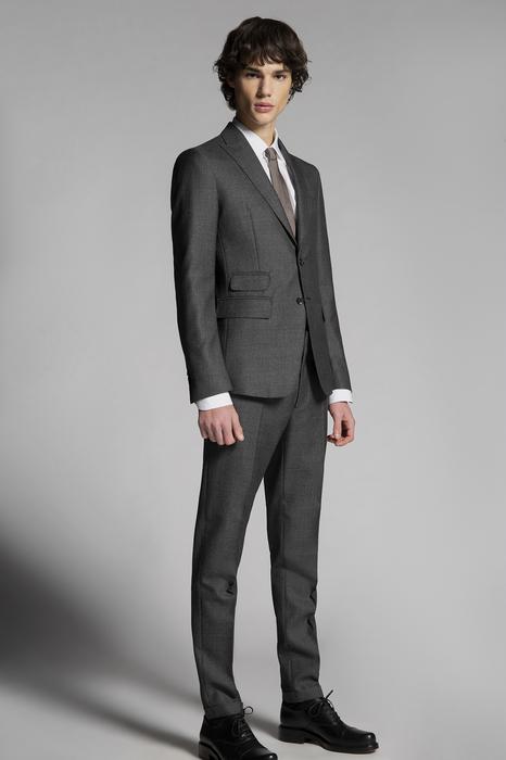DSQUARED2 Men Suit Lead Size 38 100% Virgin Wool