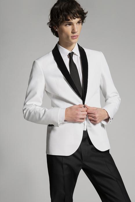 DSQUARED2 Men Suit White Size 42 66% Cotton 34% Silk