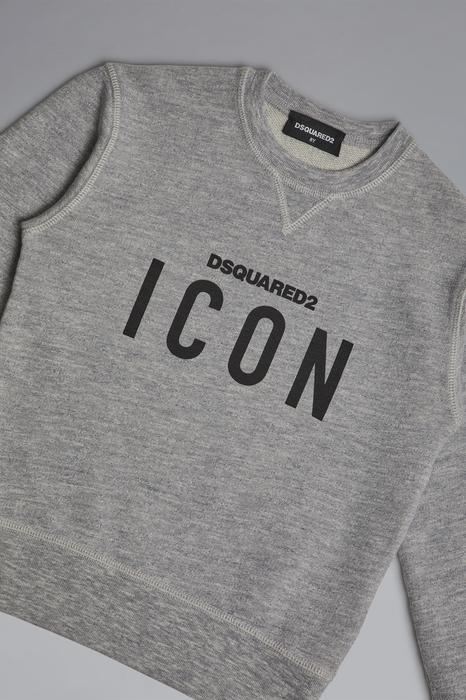 DSQUARED2 Men Sweatshirt Grey Size 6 92% Cotton 8% Viscose