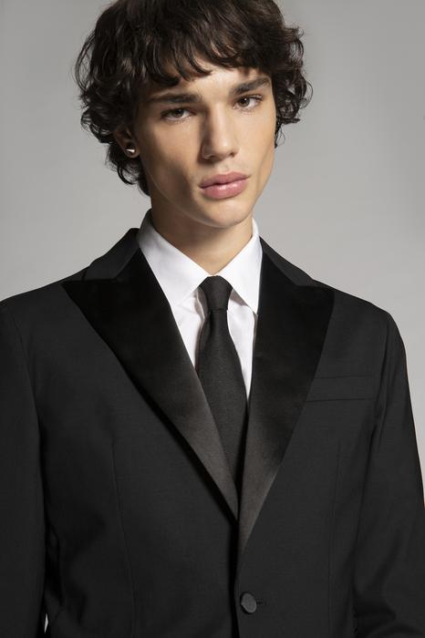 DSQUARED2 Men Tie Black Size OneSize 100% SETA
