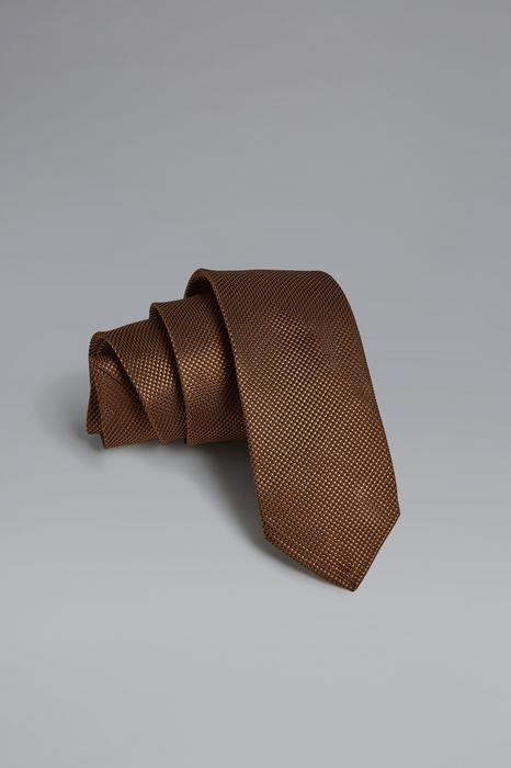 DSQUARED2 Men Tie Light brown Size OneSize 100% Silk