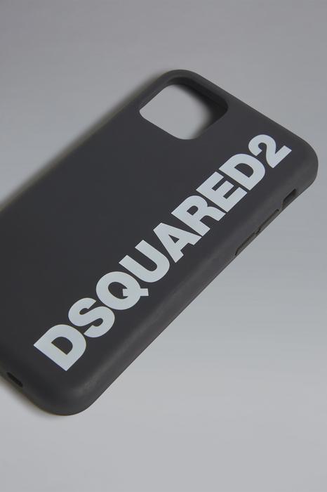 DSQUARED2 Men iPhone holder Black Size OneSize 100% Thermoplastic polyurethane