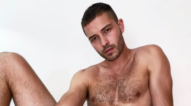 Francisco Strips Down for L'Officiel Hommes Italia