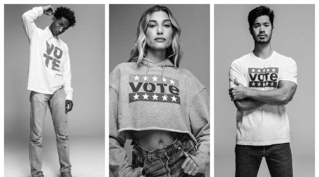 Hailey Bieber, Jaden Smith + More Encourage Voting with Levi's Campaign