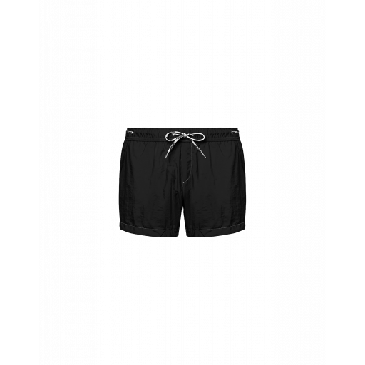 Logo Lace Nylon Boxer Shorts