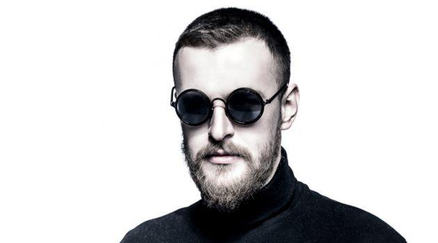 Man Beard Round Sunglasses